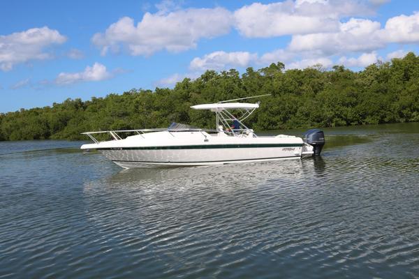 34-ft-Intrepid-1999-339 WALKAROUND-NO NAME INTREPID Naples Florida United States  yacht for sale
