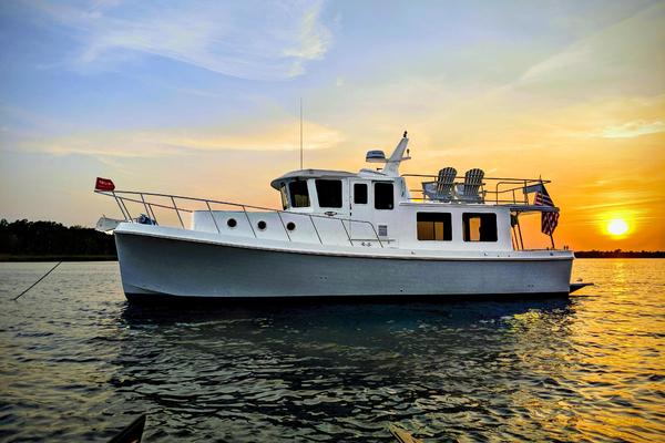 39-ft-American Tug-2017-395-Karma Stuart Florida United States  yacht for sale
