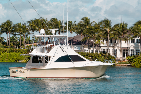 Picture Of: 48' Ocean Super Sport 2000 Yacht For Sale | 3 of 34