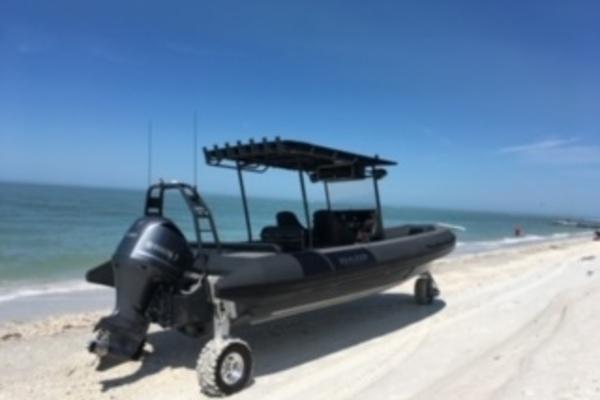 30' Sealegs Interceptor 9000 2018 | Land Shark