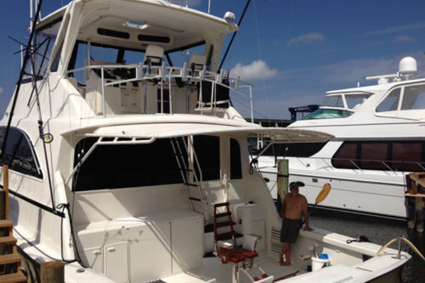 1991 Ocean Yachts 58' Convertible T Back | Picture 3 of 14