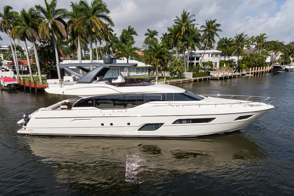 70-ft-Ferretti Yachts-2017-700-A Lazee Day Fort Lauderdale Florida United States  yacht for sale