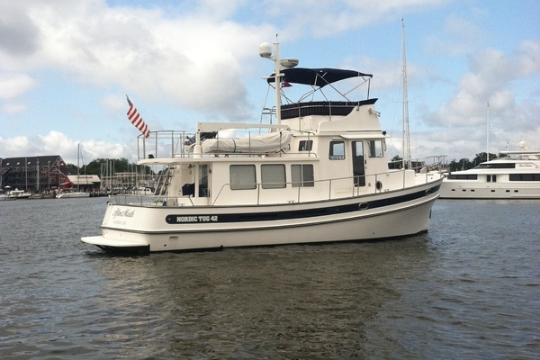Nordic Tugs 42' 42 With Flybridge 2007  Aftermath