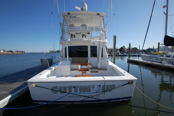 2005 Viking 52' 52 Convertible Cuttin Up | Picture 2 of 120
