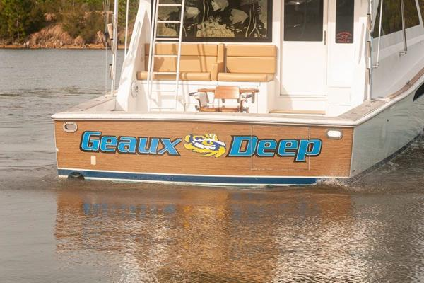 2000 Viking 58' 58 Convertible Geaux Deep | Picture 1 of 49