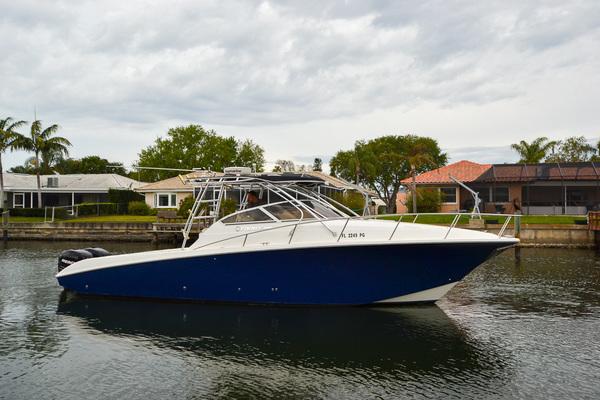 2007 Fountain 33 Sportfish Cruiser