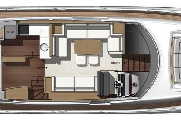 Picture Of: 58' Prestige 560 Flybridge 2018 Yacht For Sale | 4 of 5