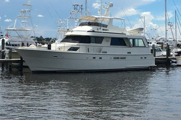 60-ft-Hatteras-1989-Motor Yacht-Julia E Osprey Florida United States  yacht for sale