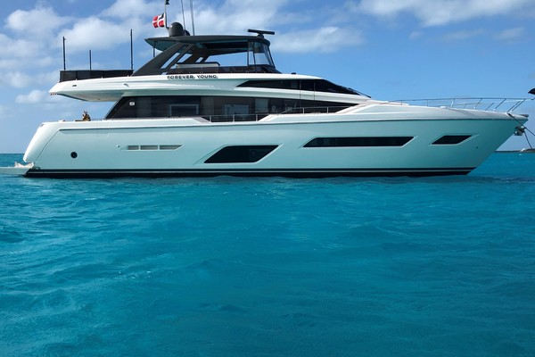 78-ft-Ferretti Yachts-2019-780-FOREVER YOUNG Miami Florida United States  yacht for sale