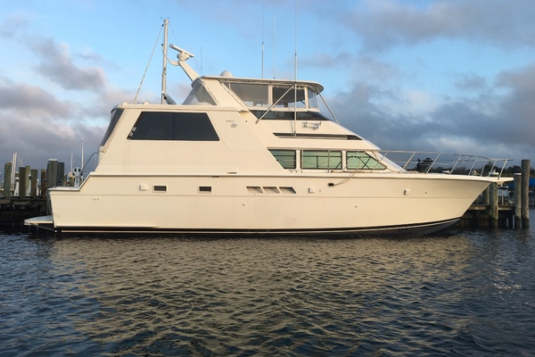 52-ft-Hatteras-1997-Cockpit Motor Yacht-Tropic Jones Vero Beach Florida United States  yacht for sale