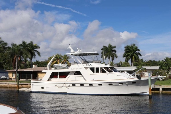 67' Nordlund Raised Pilothouse 1985 | Quiet Storm