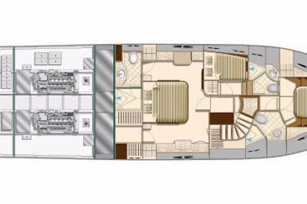 Picture Of: 66' Hampton 650 Pilothouse 2020 Yacht For Sale | 3 of 4