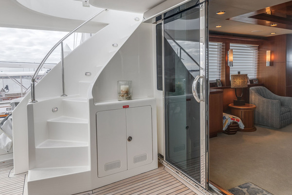 2009 Ocean Alexander 74' Open Flybridge Lady Gigi | Picture 4 of 48