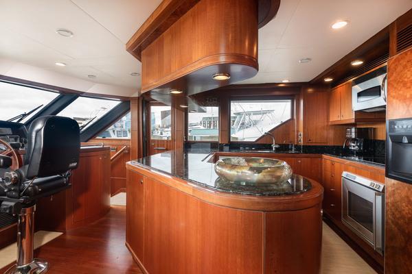 2009 Ocean Alexander 74' Open Flybridge Lady Gigi | Picture 5 of 48