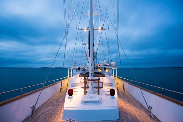 1983 Palmer Johnson 157' Tri-Masted Staysail Arabella  | Picture 1 of 32