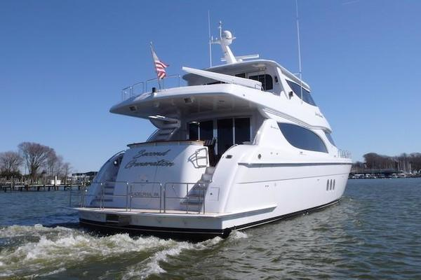 2005 Hatteras 80' Sky Lounge Motor Yacht SECOND GENERATION | Picture 5 of 69