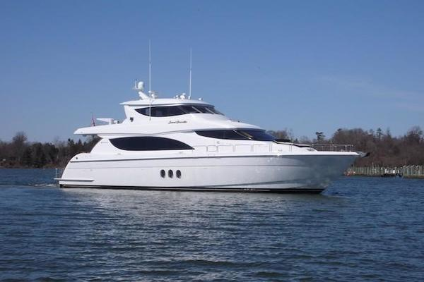 80' Hatteras Sky Lounge Motor Yacht 2005 | Second Generation
