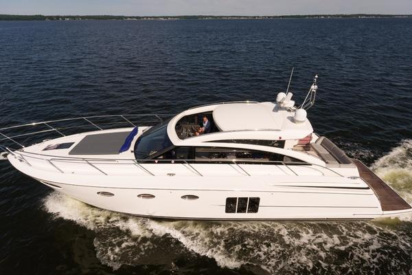 Picture Of: 54' Princess V52 2012 Yacht For Sale   2 of 34
