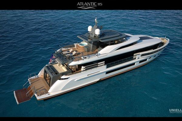 115-ft-Heysea-2021-115 Atlantic-115 Atlantic Fort Lauderdale Florida United States  yacht for sale