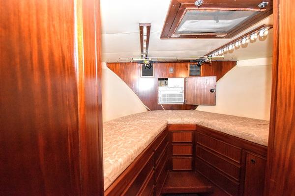 Hatteras Convertible 1984 Point Blank Salon