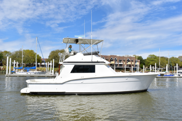 45' Hatteras 45 Convertible 1984 | Point Blank