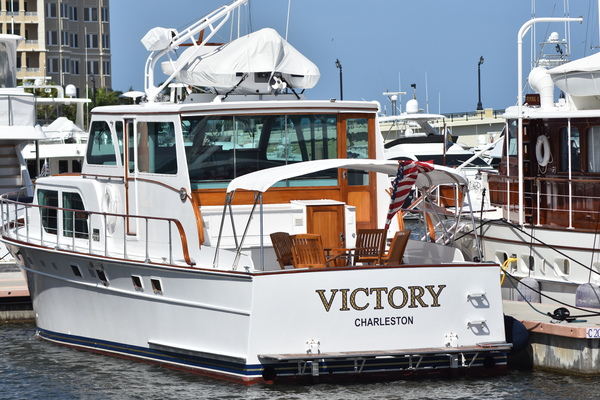 53-ft-Huckins-1972-Motor Yacht Cruiser-Victory Palm Beach Florida United States  yacht for sale