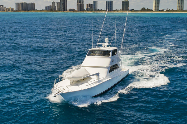 Picture Of: 61' Viking 61 Enclosed Bridge Convertible 2004 Yacht For Sale | 3 of 59