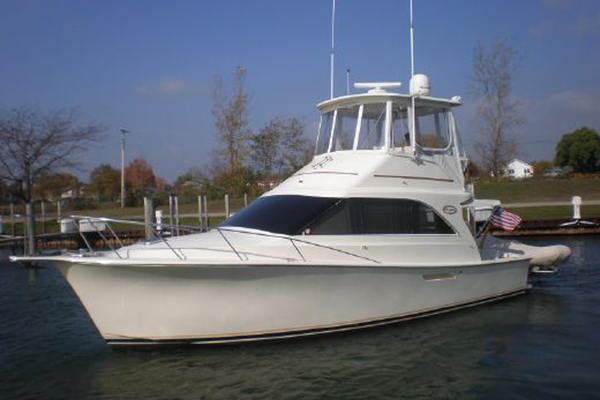 35-ft-Ocean Yachts-1989-35 Super Sport-At First Sight East Tawas Michigan United States  yacht for sale