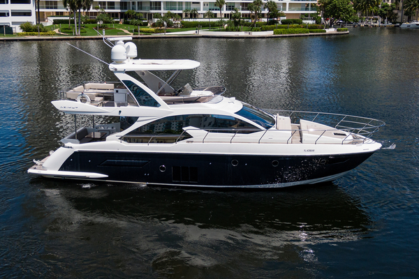 50-ft-Azimut-2015-Flybridge-M/Y AHAVA Golden Beach Florida United States  yacht for sale