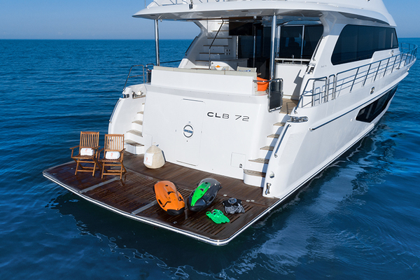 2020 CL Yachts 72' CLB72 New inventory   SOLD! More CLB72 hulls are under construction. | Picture 6 of 12