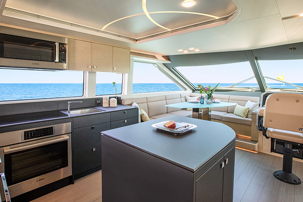 2020 CL Yachts 72' CLB72 New inventory   SOLD! More CLB72 hulls are under construction. | Picture 8 of 12