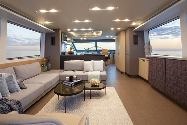 2020 CL Yachts 72' CLB72 New inventory   SOLD! More CLB72 hulls are under construction. | Picture 7 of 12