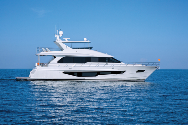 2020 CL Yachts 72' CLB72 New inventory   SOLD! More CLB72 hulls are under construction. | Picture 1 of 12