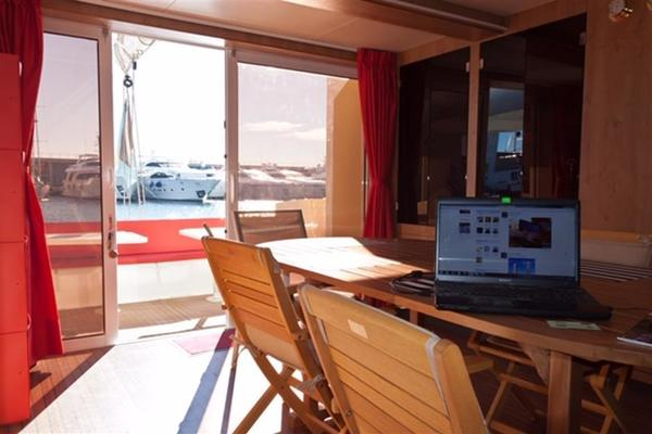 2010 Fountaine Pajot 77' Catamaran Helicat Red | Picture 4 of 48