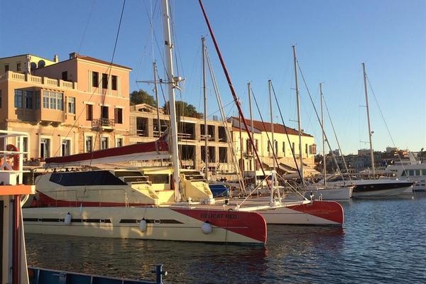 2010 Fountaine Pajot 77' Catamaran Helicat Red | Picture 7 of 48