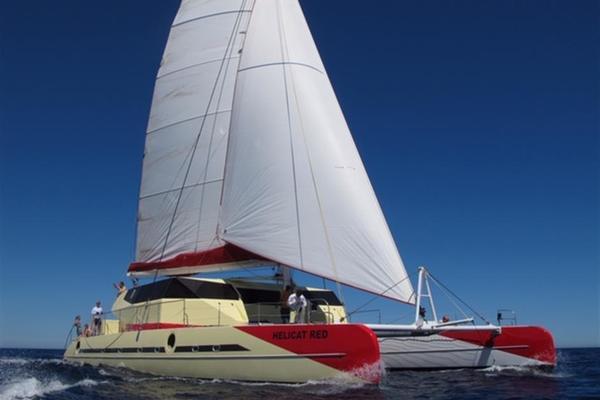 77' Fountaine Pajot Catamaran 2010 | Helicat Red