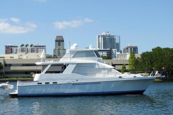 54' Ocean Alexander Yachtfish Command Bridge 1998 | Melodious