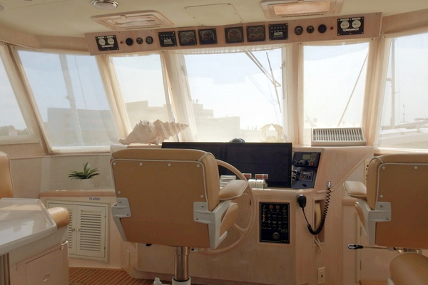 1998 Ocean Alexander 54' Yachtfish Command Bridge Melodious | Picture 6 of 14
