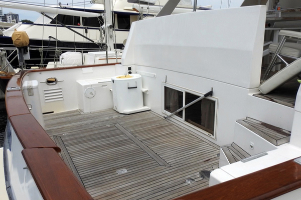 1998 Ocean Alexander 54' Yachtfish Command Bridge Melodious | Picture 2 of 14