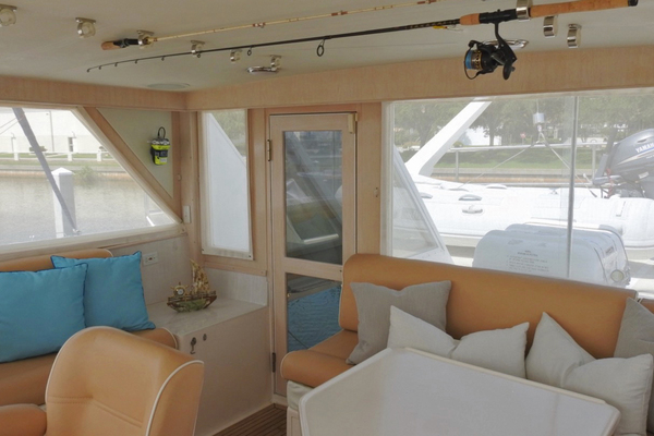 1998 Ocean Alexander 54' Yachtfish Command Bridge Melodious | Picture 8 of 14