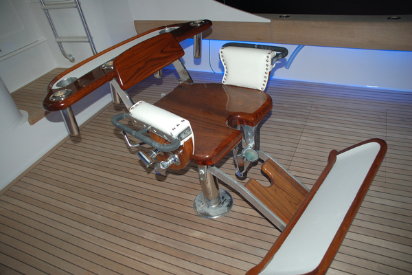 2004 Sculley 60' Custom 60 - Repowered & Gyro stabilized STEALIN TIME   Picture 4 of 77