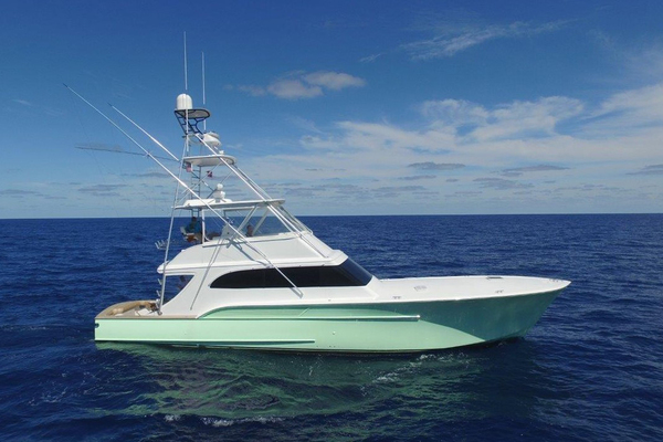 2004 Sculley 60' Custom 60 - Repowered & Gyro stabilized STEALIN TIME   Picture 5 of 77