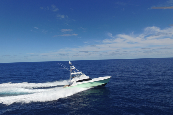 2004 Sculley 60' Custom 60 - Repowered & Gyro stabilized STEALIN TIME   Picture 1 of 77