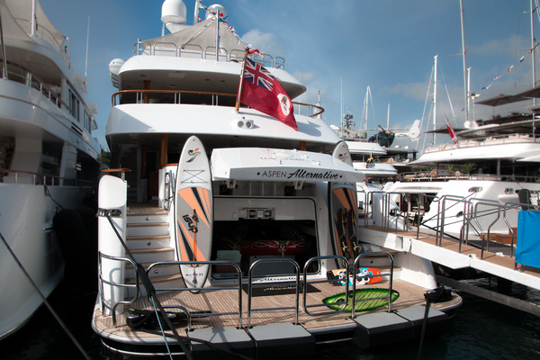 2010 Trinity Yachts 164' Tri-Deck Motor Yacht ASPEN ALTERNATIVE   Picture 4 of 30