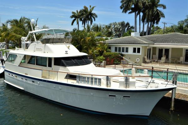 53-ft-Hatteras-1978-Classic-Makana Fort Lauderdale Florida United States  yacht for sale