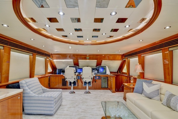 2001 Hargrave 94' Enclosed Bridge Skylounge Done Deal | Picture 2 of 70