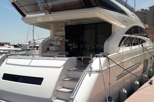 2012Princess 65 ft 64 Flybridge Motor Yacht   P64