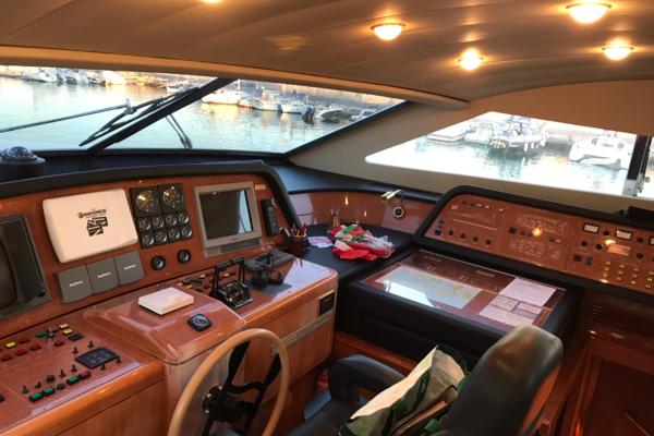 1999 Ferretti Yachts 94' Custom Line 94  | Picture 8 of 13