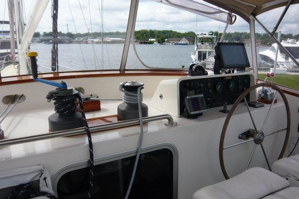 1983 Cheoy Lee 63' Pilothouse Motor Sailor Beleza   Picture 2 of 121
