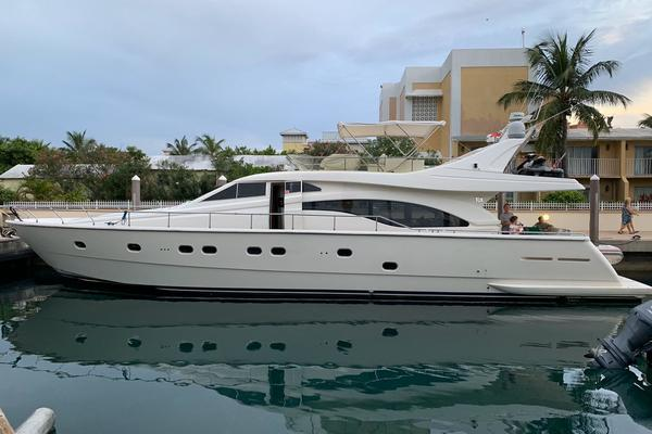 68-ft-Ferretti Yachts-2000-680-CALACATTA Miami Beach Florida United States  yacht for sale